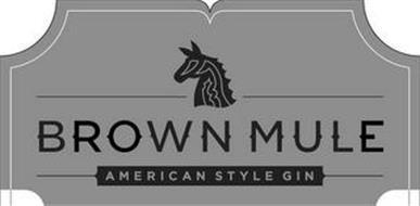 BROWN MULE AMERICAN STYLE GIN