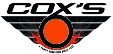 COX'S A FAMILY TRADITION SINCE 1961