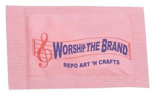 WORSHIP THE BRAND REPO ART 'N CRAFTS