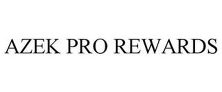 AZEK PRO REWARDS