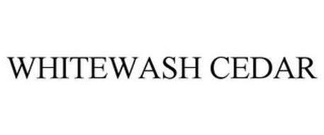 WHITEWASH CEDAR