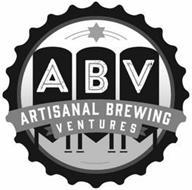 ABV ARTISANAL BREWING VENTURES
