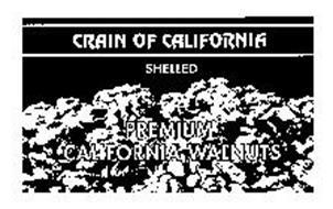 CRAIN OF CALIFORNIA SHELLED PREMIUM CALIFORNIA WALNUTS