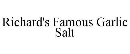 RICHARD'S FAMOUS GARLIC SALT