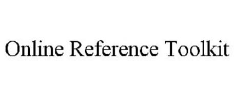 ONLINE REFERENCE TOOLKIT