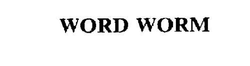 WORD WORM