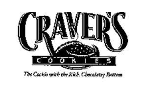 CRAVER'S COOKIES THE COOKIE WITH THE RICH, CHOCOLATEY BOTTOM