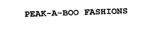 PEAK-A-BOO FASHIONS