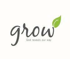 GROW GOD REVEALS OUR WAY