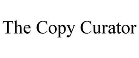 THE COPY CURATOR