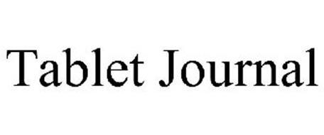 TABLET JOURNAL