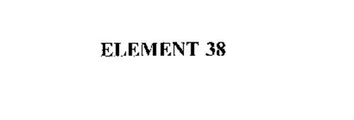 ELEMENT 38