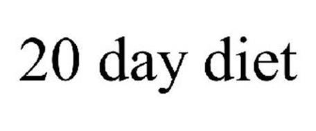 20 DAY DIET