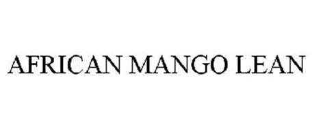 AFRICAN MANGO LEAN