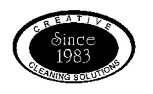 CREATIVE CLEANING SOLUTIONS SINCE 1983