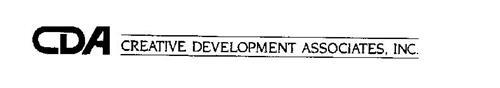 CDA CREATIVE DEVELOPMENT ASSOCIATES, INC.