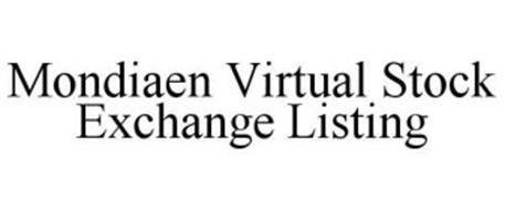 MONDIAEN VIRTUAL STOCK EXCHANGE LISTING