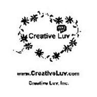 CREATIVE LUV SEND LUV WWW.CREATIVELUV.COM CREATIVE LUV, INC.