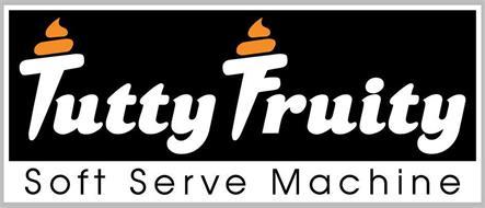 TUTTY FRUITY SOFT SERVE MACHINE