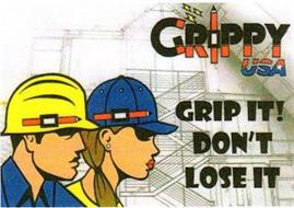 GRIPPY USA GRIP IT! DON'T LOSE IT