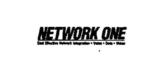 NETWORK ONE COST EFFECTIVE NETWORK INTEPRATION - VOICE - DATA - VIDEO