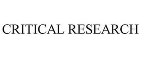 CRITICAL RESEARCH