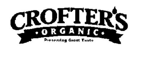 CROFTER'S ORGANIC PRESERVING GREAT TASTE