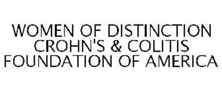 WOMEN OF DISTINCTION CROHN'S & COLITIS FOUNDATION OF AMERICA