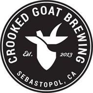 CROOKED GOAT BREWING EST 2013 SEBASTOPOL, CA