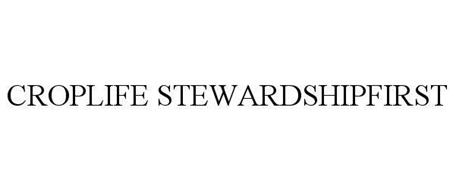 CROPLIFE STEWARDSHIPFIRST