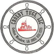 CROSBY TUGS, LLC GOLDEN MEADOW, LA (985) 632-7575