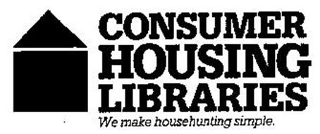 CONSUMER HOUSING LIBRARIES WE MAKE HOUSEHUNTING SIMPLE