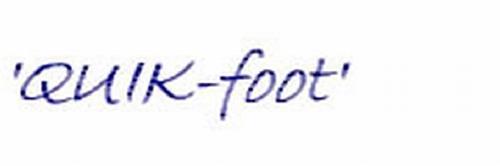 'QUIK-FOOT'