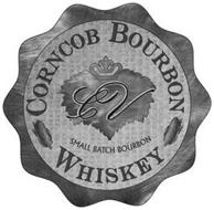 CV CORNCOB BOURBON WHISKEY SMALL BATCH BOURBON