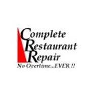 COMPLETE RESTAURANT REPAIR NO OVERTIME...EVER!!