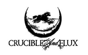 CRUCIBLE AND FLUX
