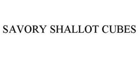 SAVORY SHALLOT CUBES
