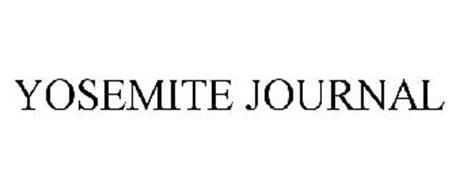 YOSEMITE JOURNAL