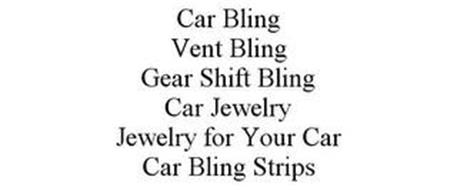 CAR BLING VENT BLING GEAR SHIFT BLING CAR JEWELRY JEWELRY FOR YOUR CAR CAR BLING STRIPS