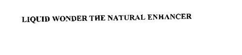 LIQUID WONDER THE NATURAL ENHANCER