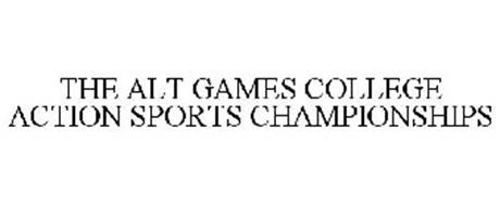 THE ALT GAMES COLLEGE ACTION SPORTS CHAMPIONSHIPS