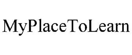 MYPLACETOLEARN