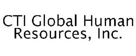 CTI GLOBAL HUMAN RESOURCES, INC.