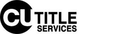 CU TITLE SERVICES