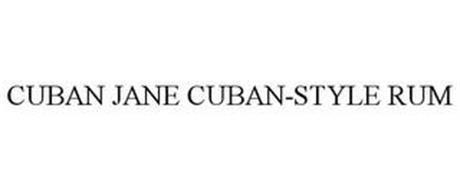 CUBAN JANE CUBAN-STYLE RUM