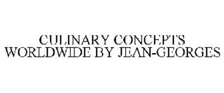 CULINARY CONCEPTS WORLDWIDE BY JEAN-GEORGES