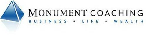 MONUMENT COACHING BUSINESS · LIFE · WEALTH