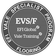 EFI VALE SPECIALIST PROGRAM FLOORING EVS/F EFI GLOBAL VALE TRAINING