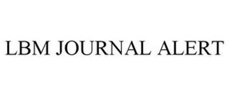 LBM JOURNAL ALERT