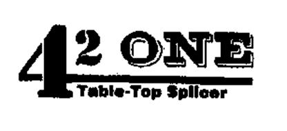 42 ONE TABLE-TOP SPLICER